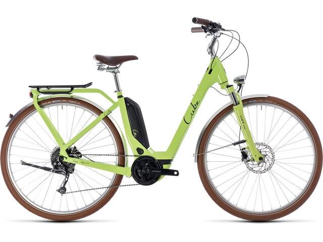Cube Elly Ride Hybrid 400 Easy Entry Green'n'Black